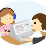 聴力が低下していないか検査を行い、まずはご自身の聴力を把握しましょう!